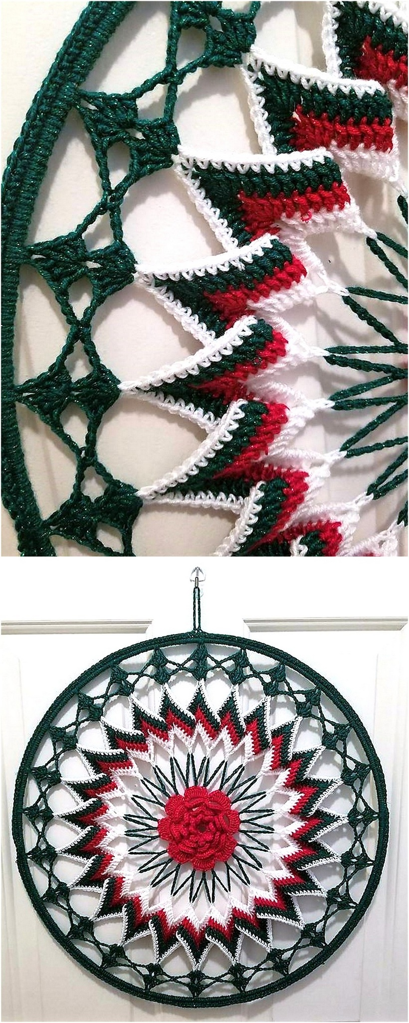 crochet dreamcatcher 2