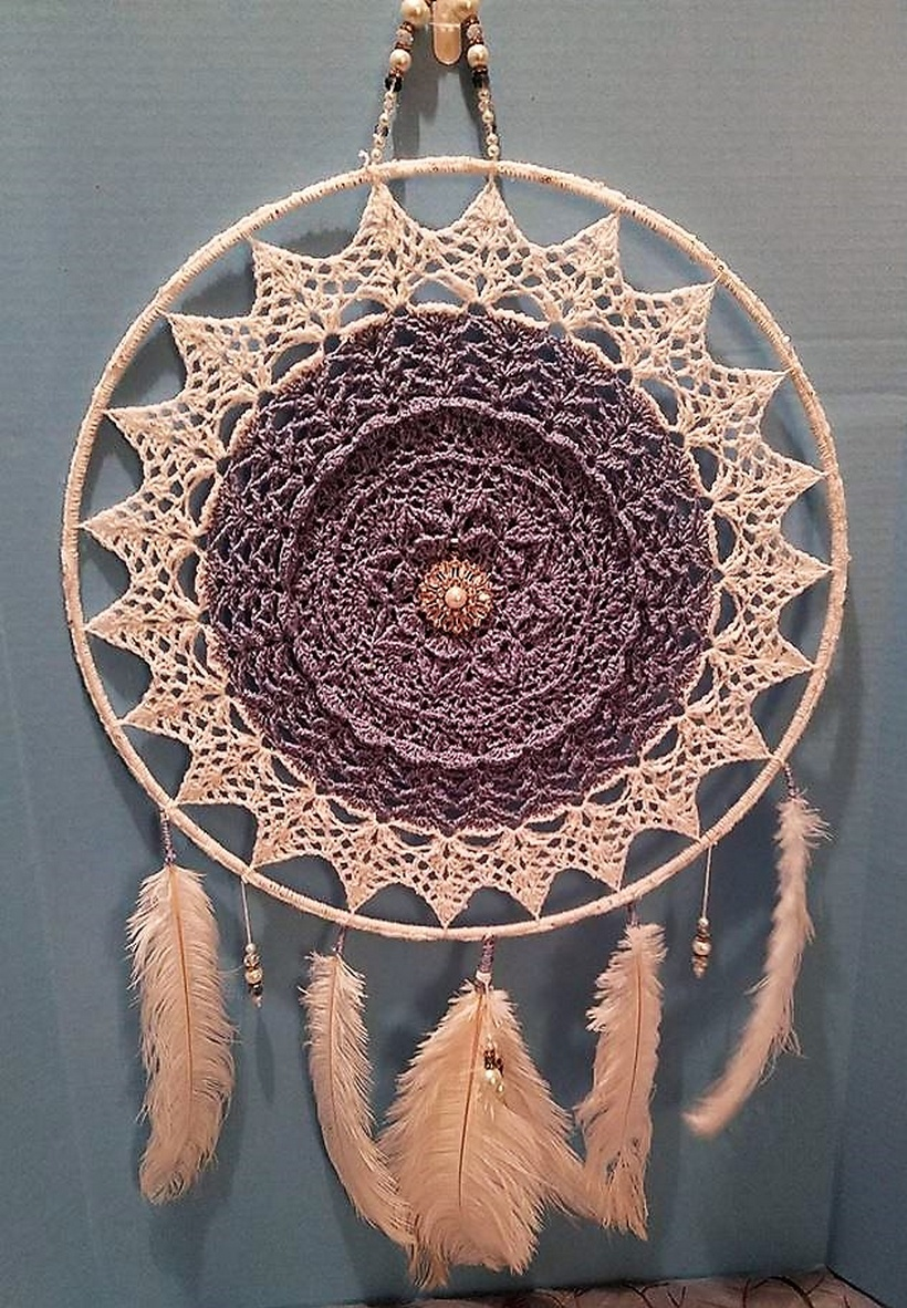 crochet dreamcatcher 21