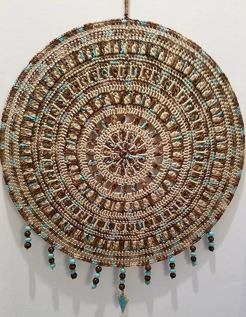 crochet dreamcatcher 22