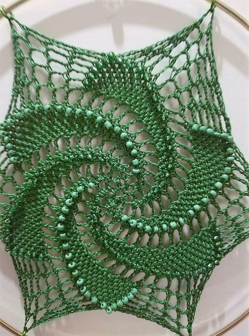 crochet dreamcatcher 3