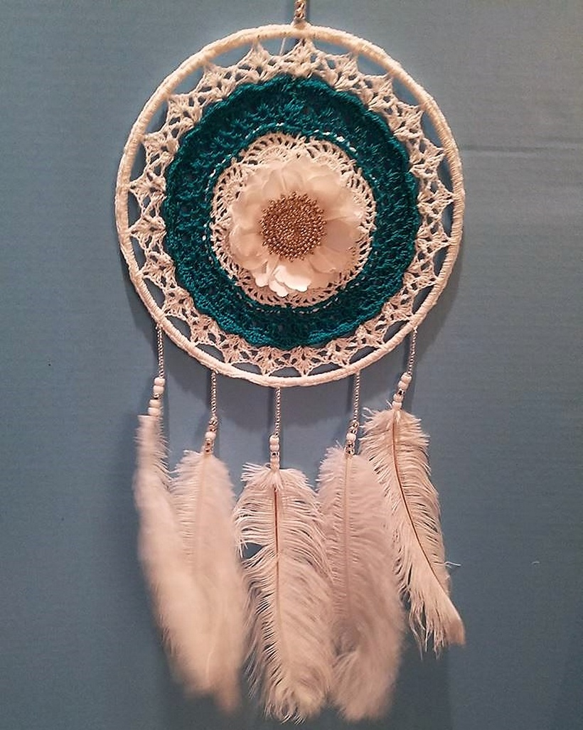 crochet dreamcatcher 5