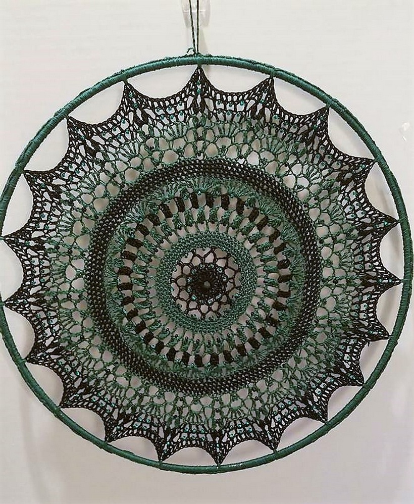 crochet dreamcatcher 8