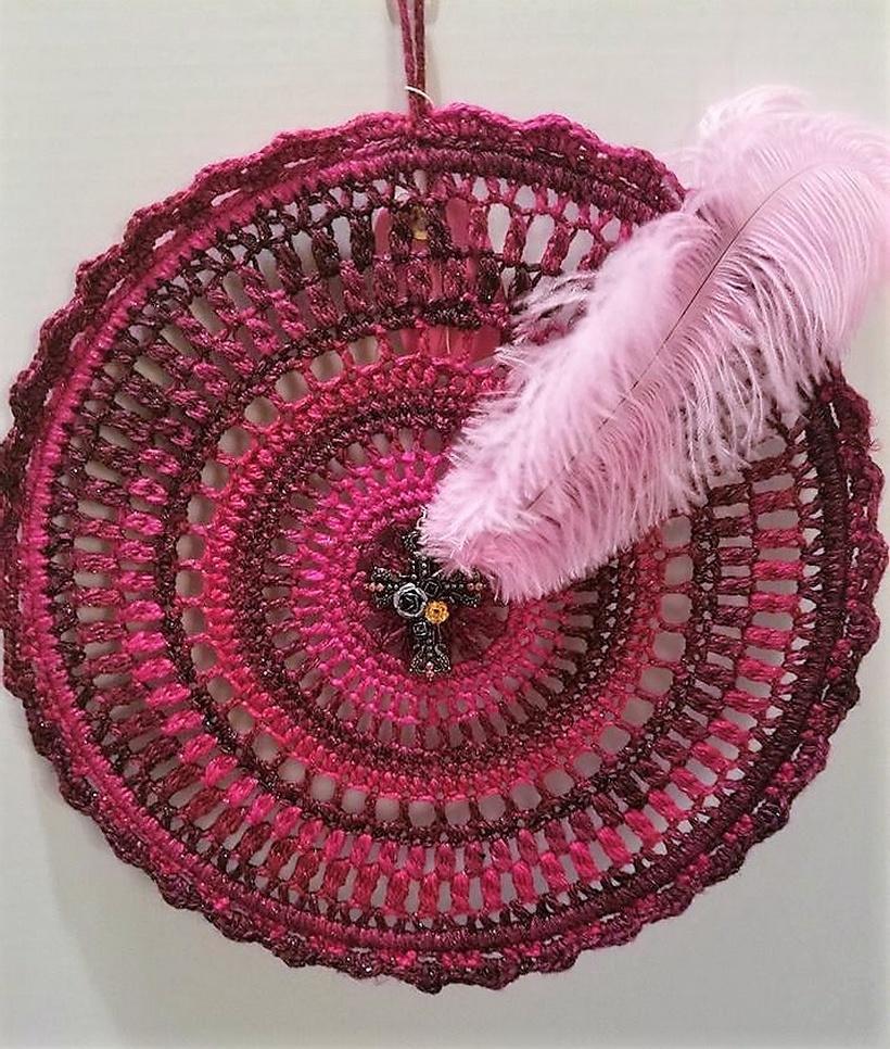 crochet dreamcatcher 9