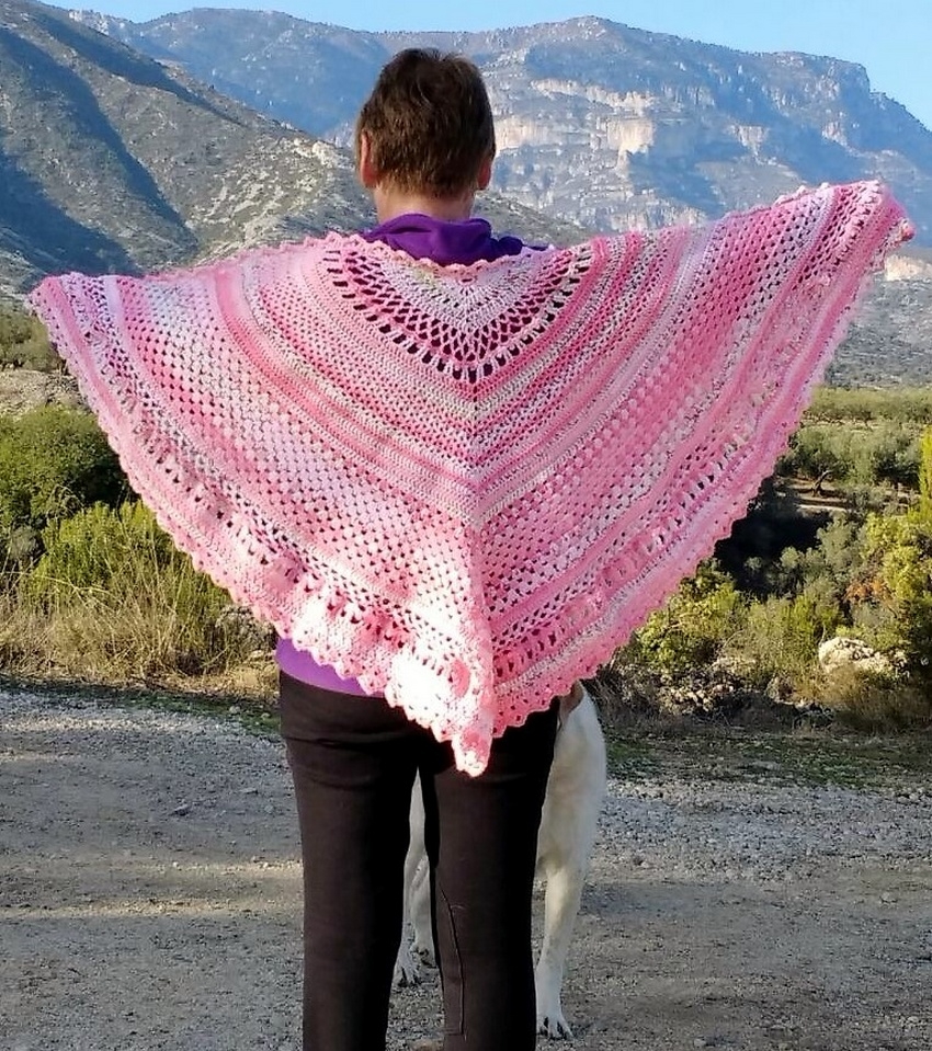 crochet shawl idea 5