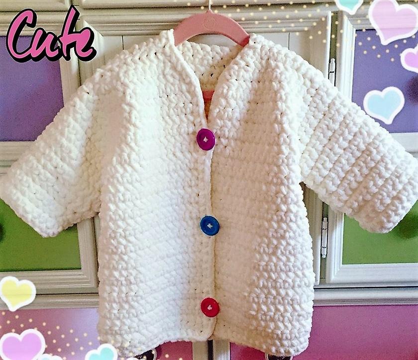 crochet sweater 1