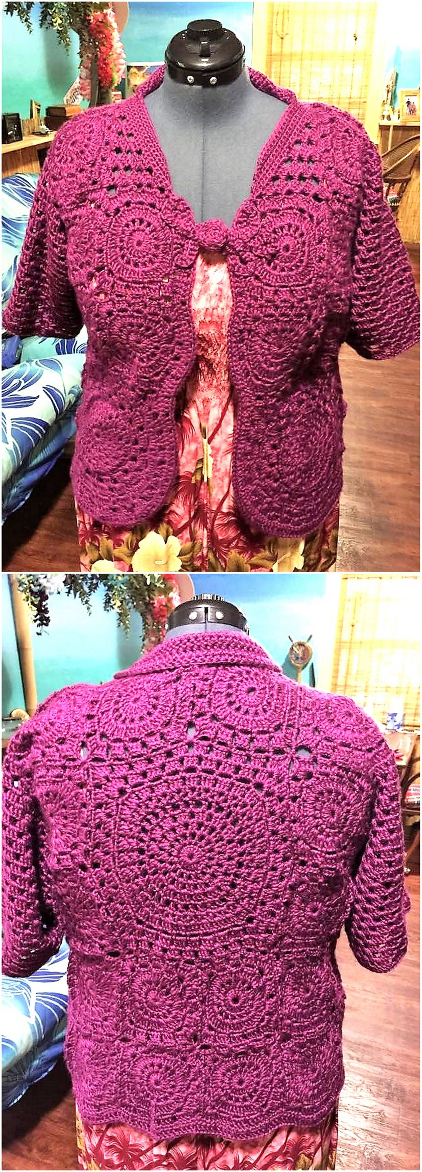 crochet sweater 10