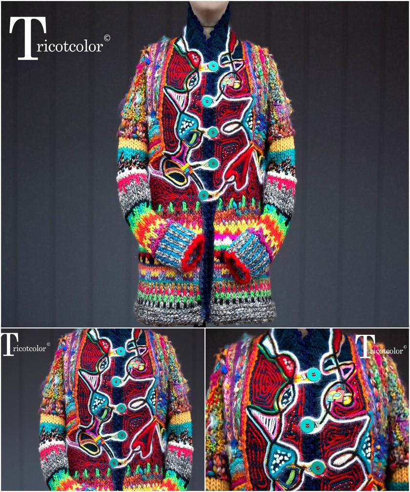 crochet sweater 11