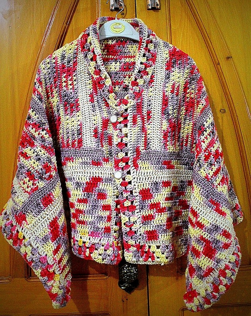 crochet sweater 12