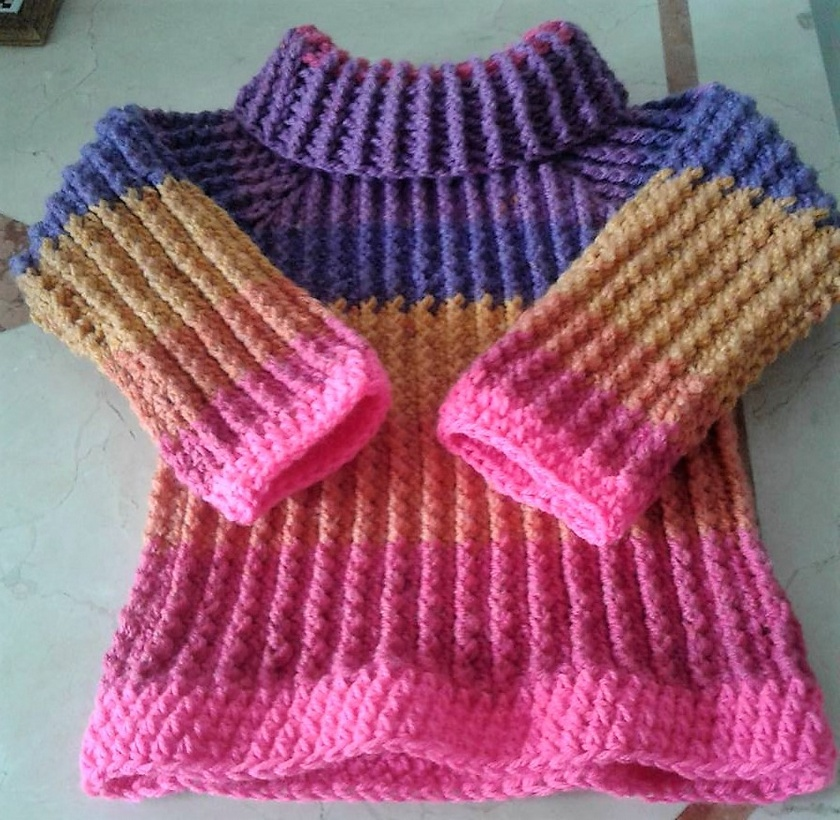 crochet sweater 14