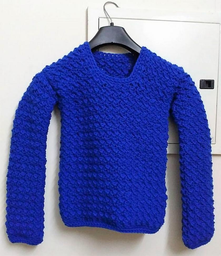 crochet sweater 5