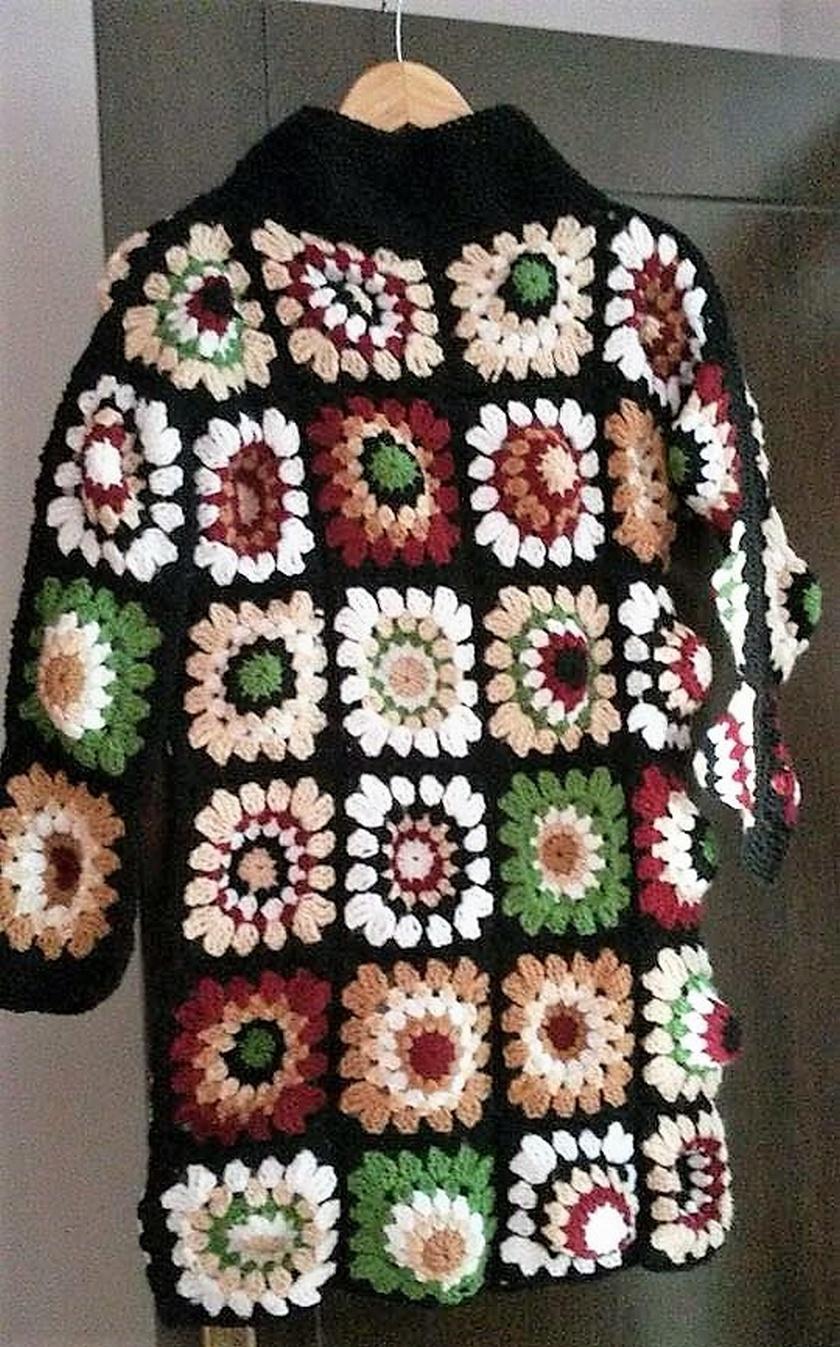 crochet sweater 6