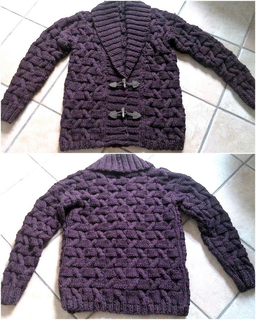 crochet sweater 7