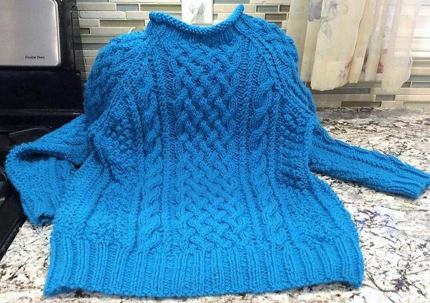 crochet sweater 8