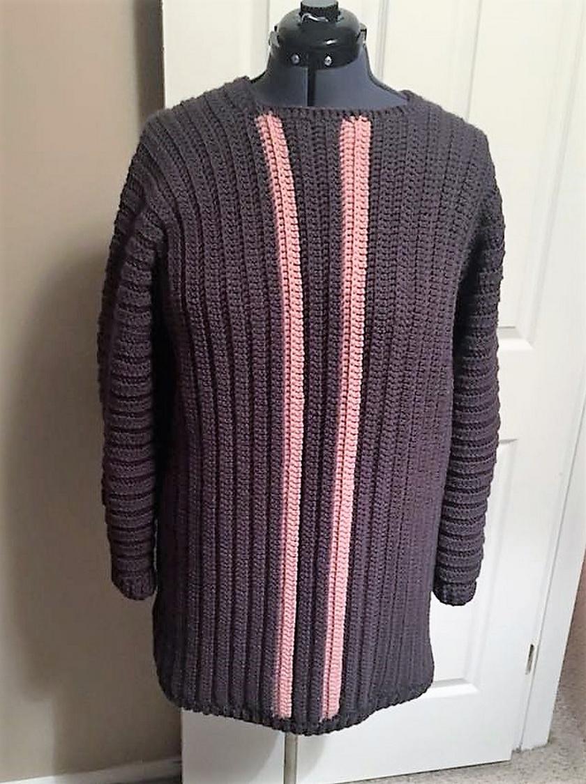 crochet sweater 9