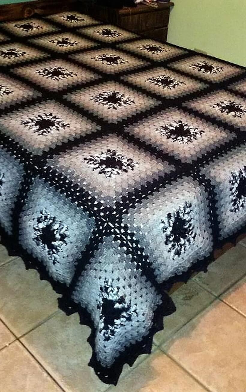 bedspread crocheting 9