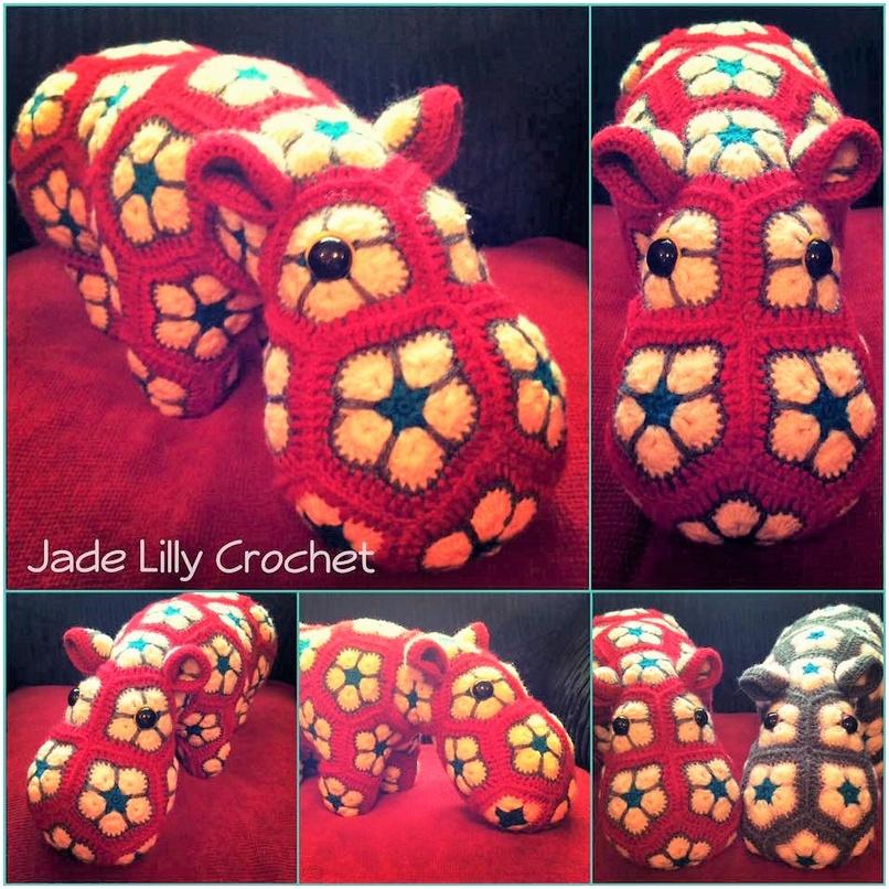 crochet animal 8