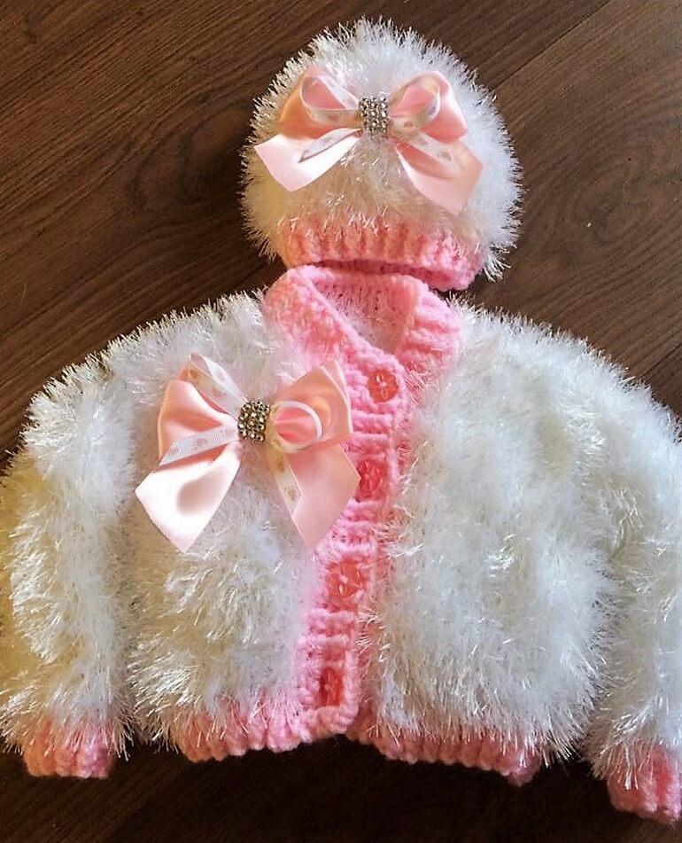crochet baby dress 1