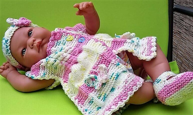 crochet baby dress 13