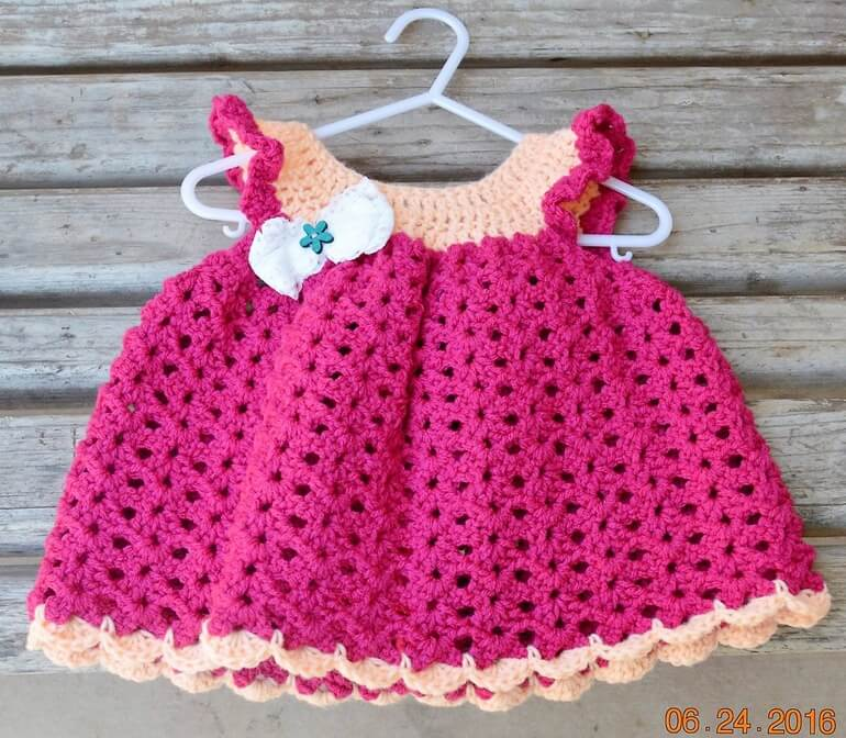 crochet baby dress 2 - Dress Design Ideas