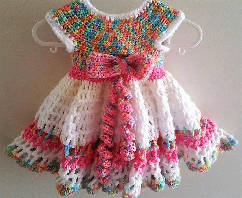crochet baby dress 4 - Dress Design Ideas