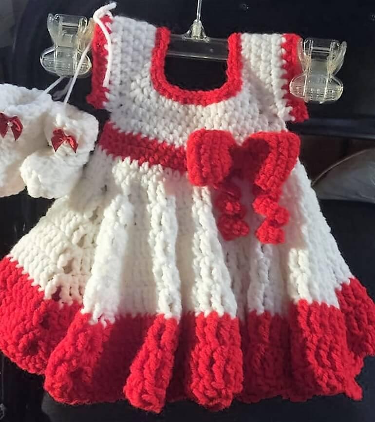 crochet baby dress 5 - 3