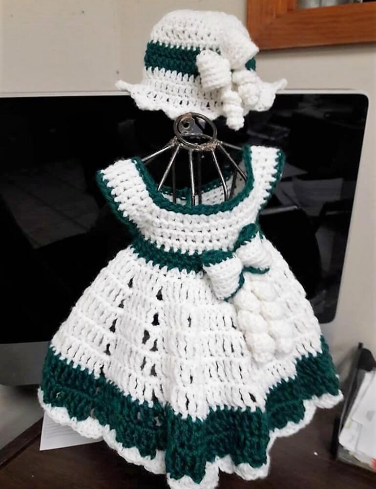 Creative Design Ideas for Crocheted Baby Dresses | 1001 Crochet