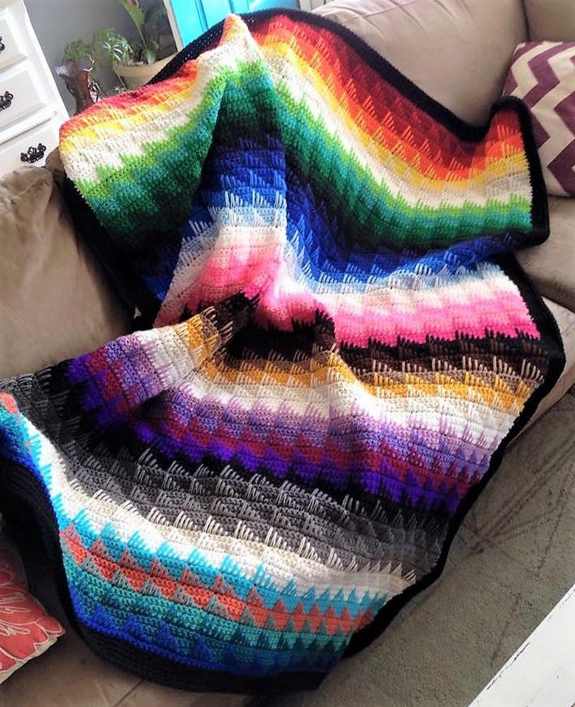 crochet blanket idea 1
