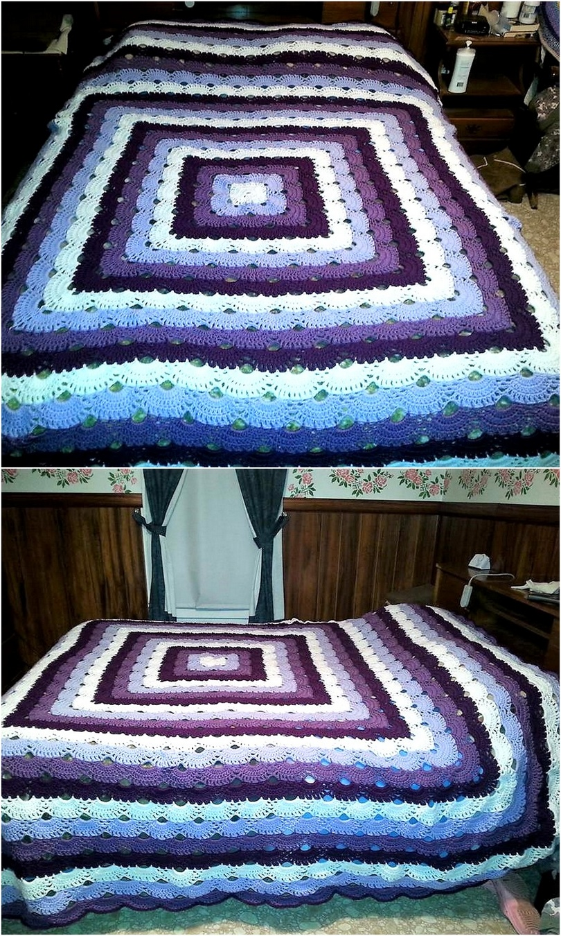 crochet blanket idea 12