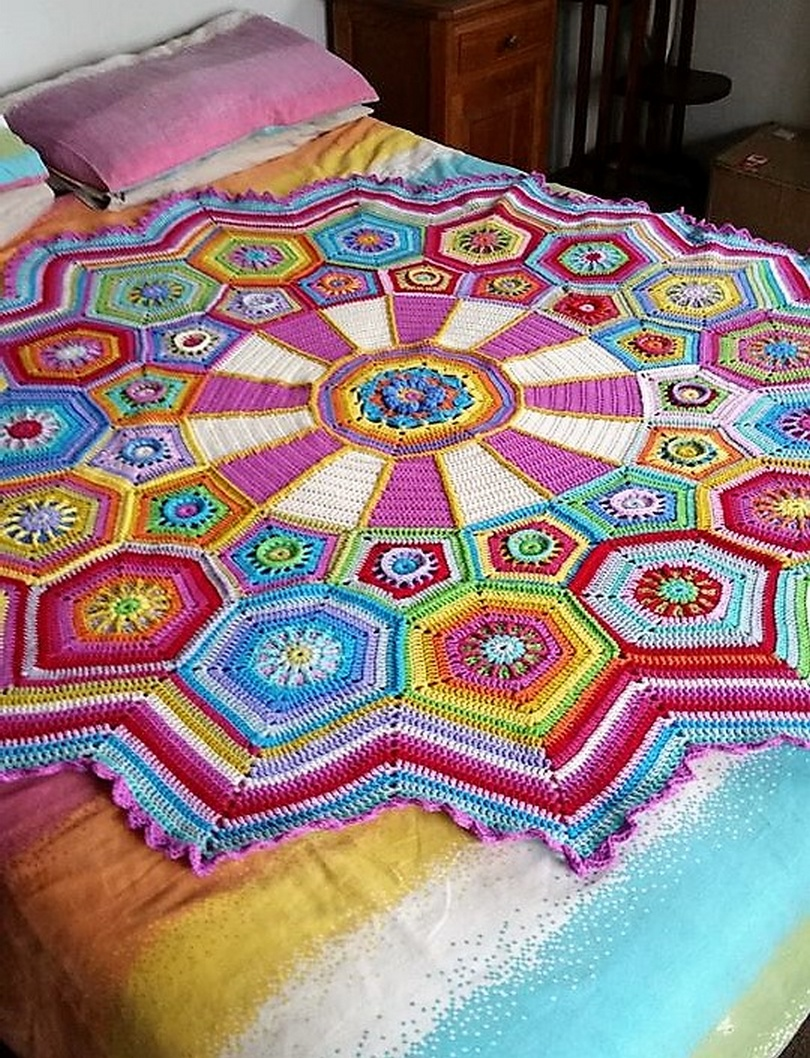 crochet blanket idea 16
