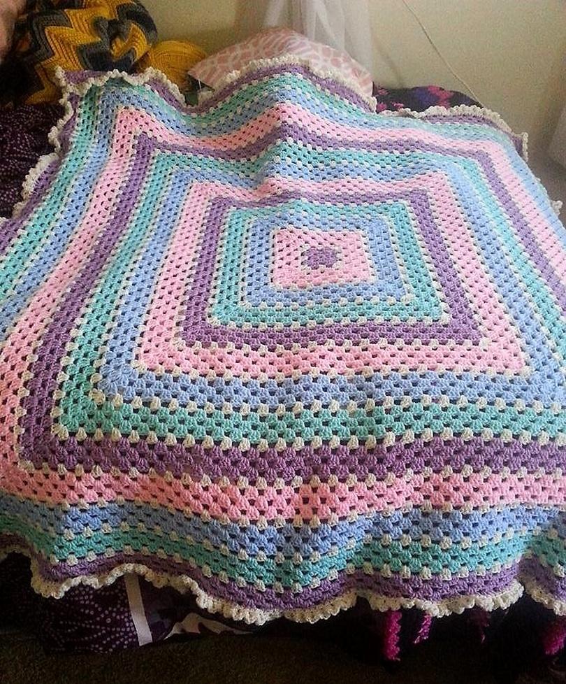 crochet blanket idea 17