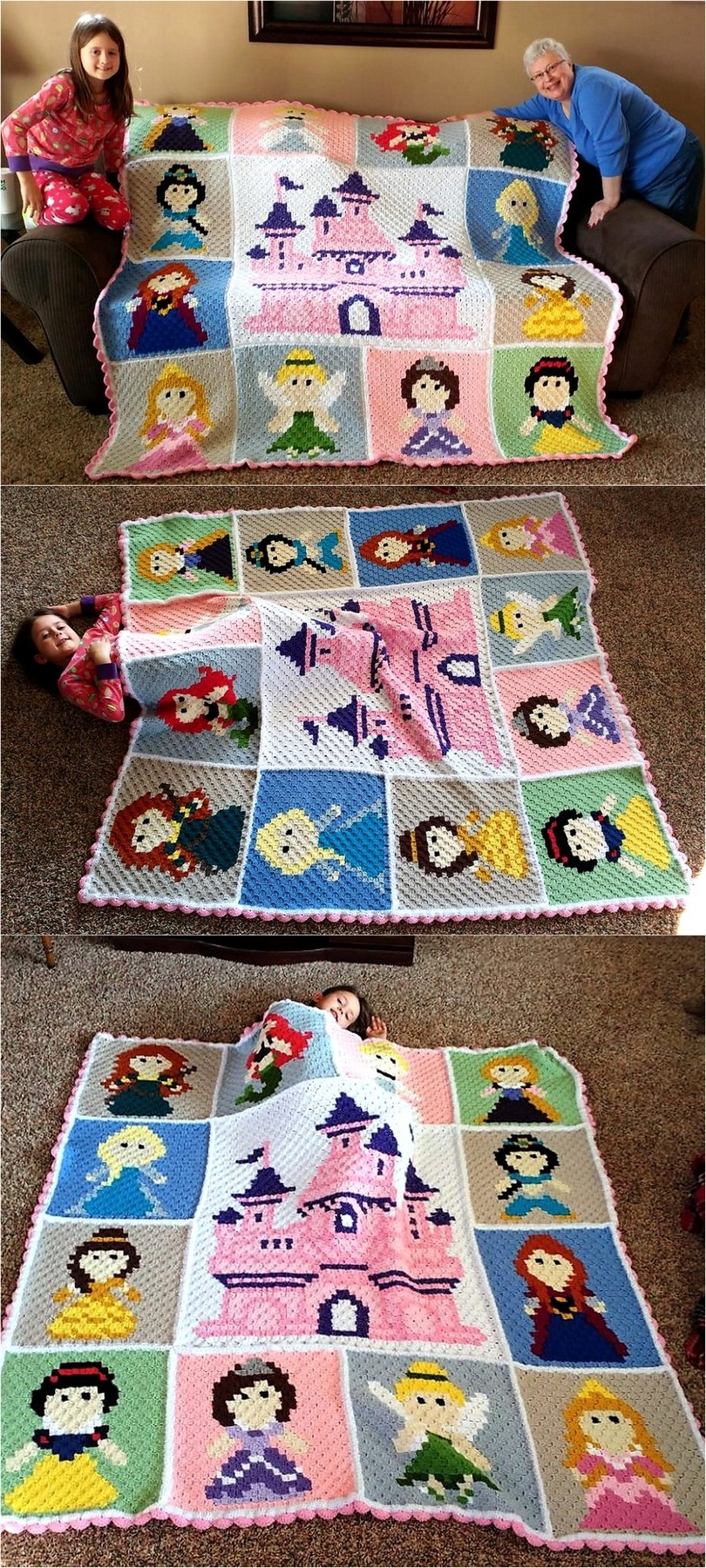 crochet blanket idea 18