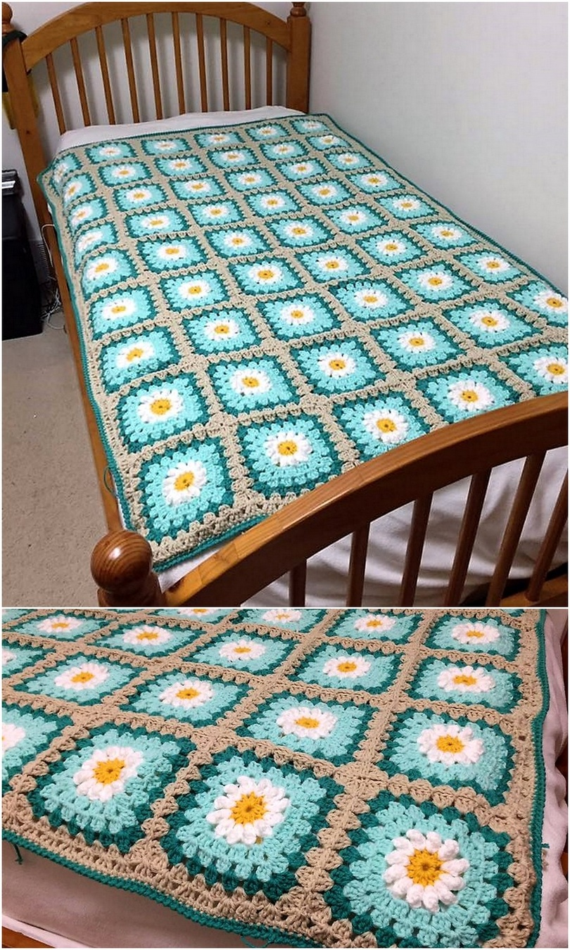 crochet blanket idea 20