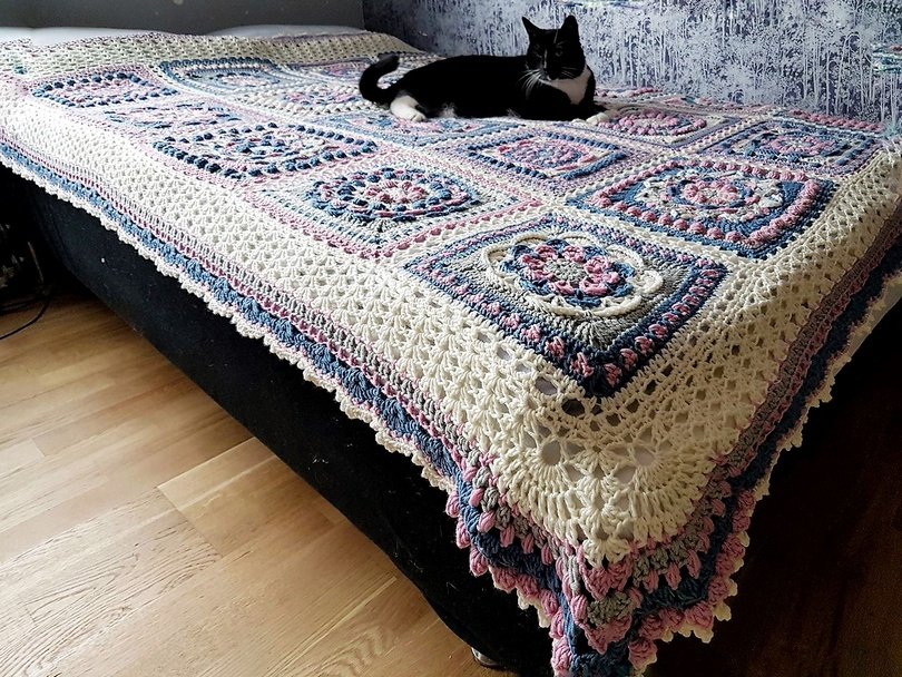 crochet blanket idea 5