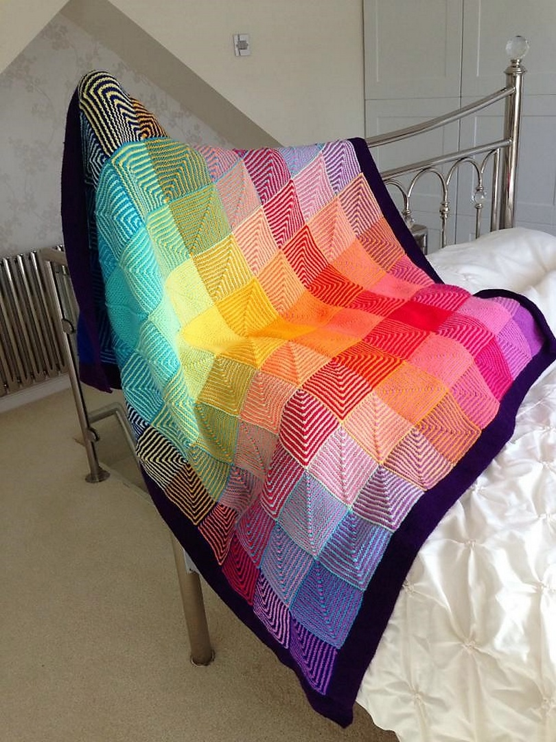 crochet blanket idea 7
