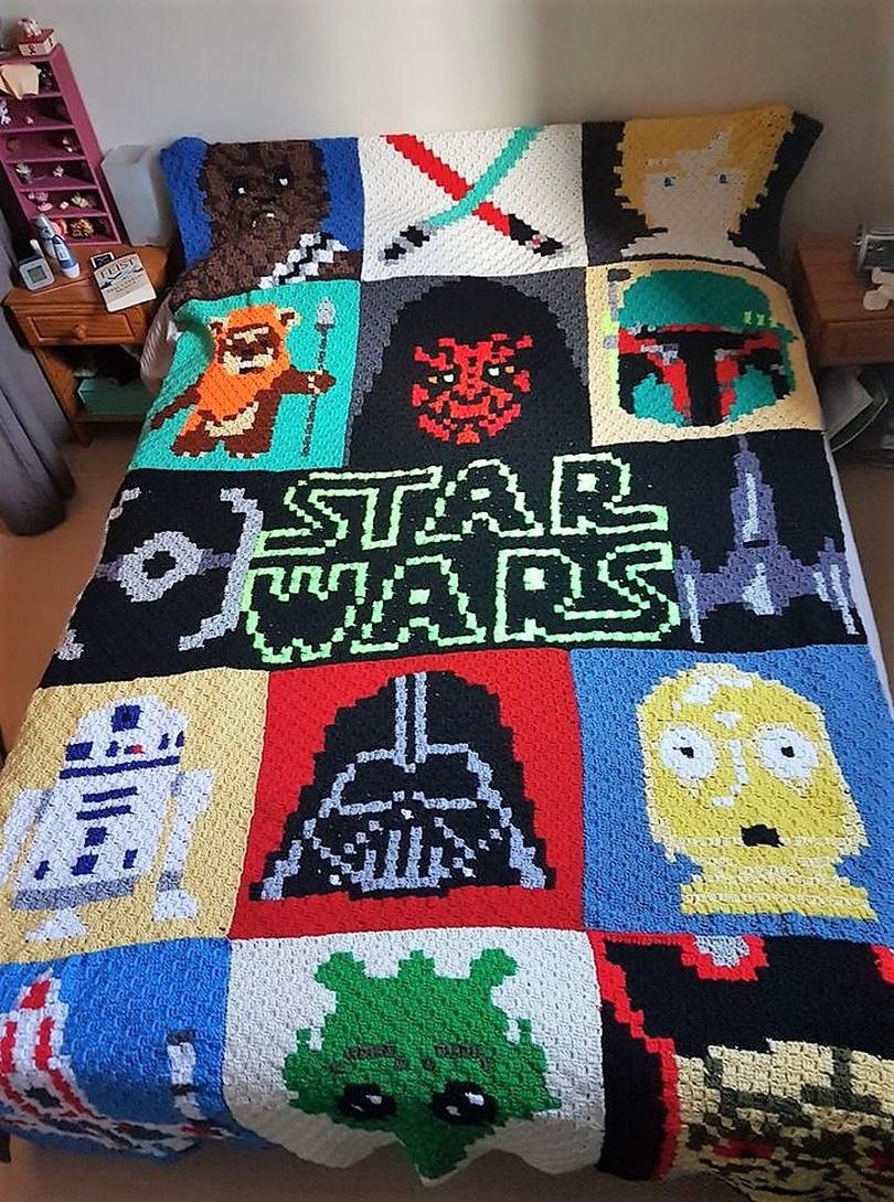 crochet blanket idea 8