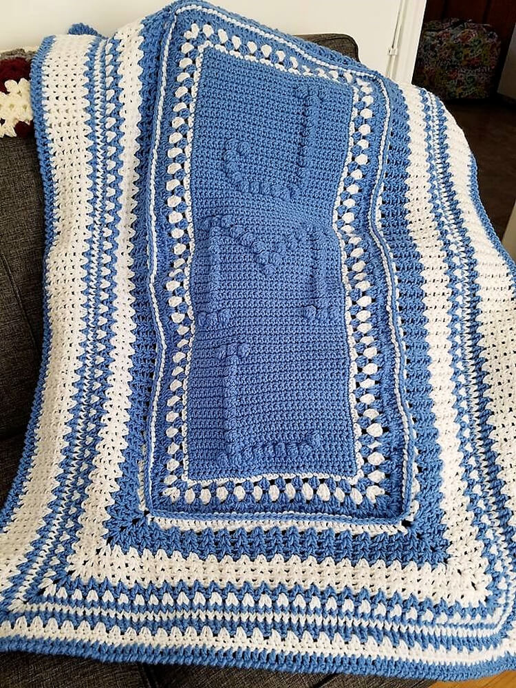 crocheted baby blankets 10