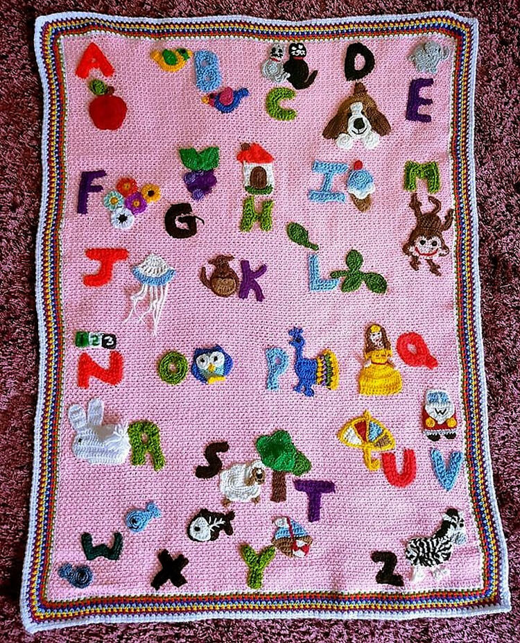 crocheted baby blankets 15
