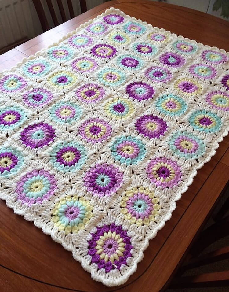 crocheted baby blankets 2