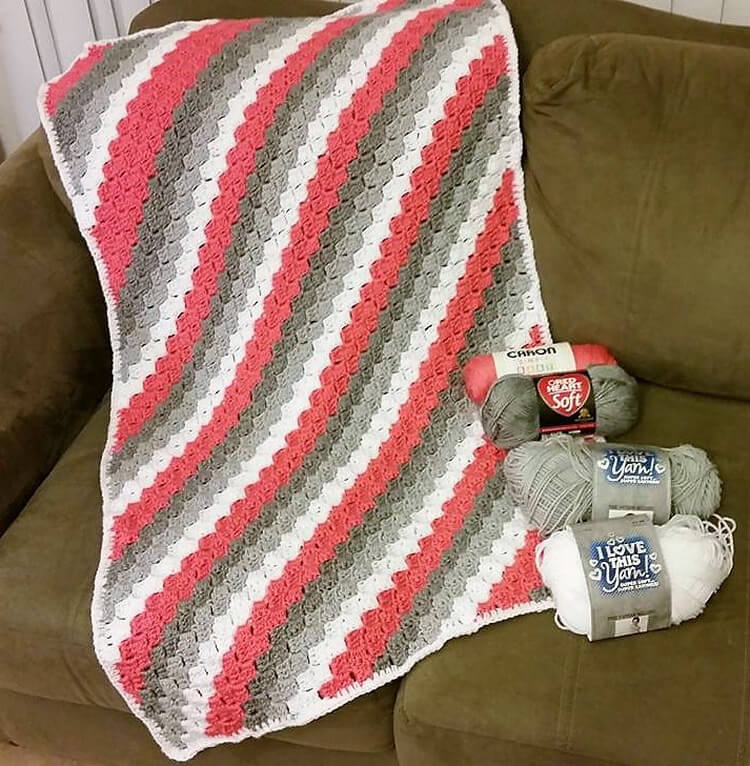 crocheted baby blankets 4
