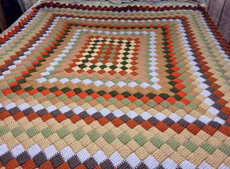 crocheted baby blankets 5