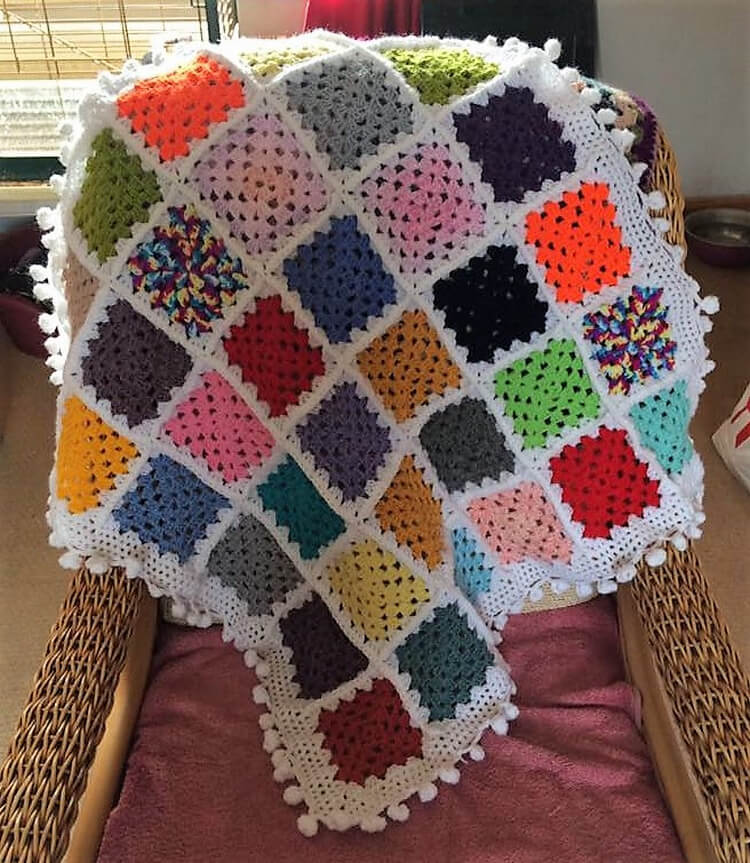 crocheted baby blankets 6