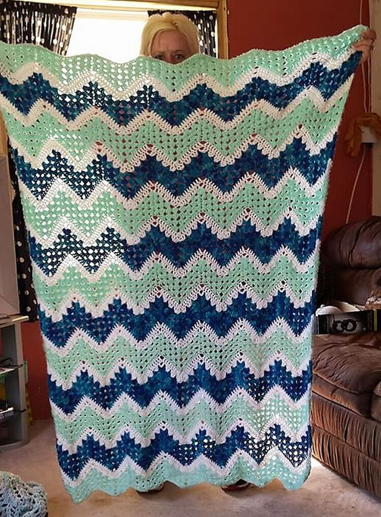 crocheted baby blankets 8