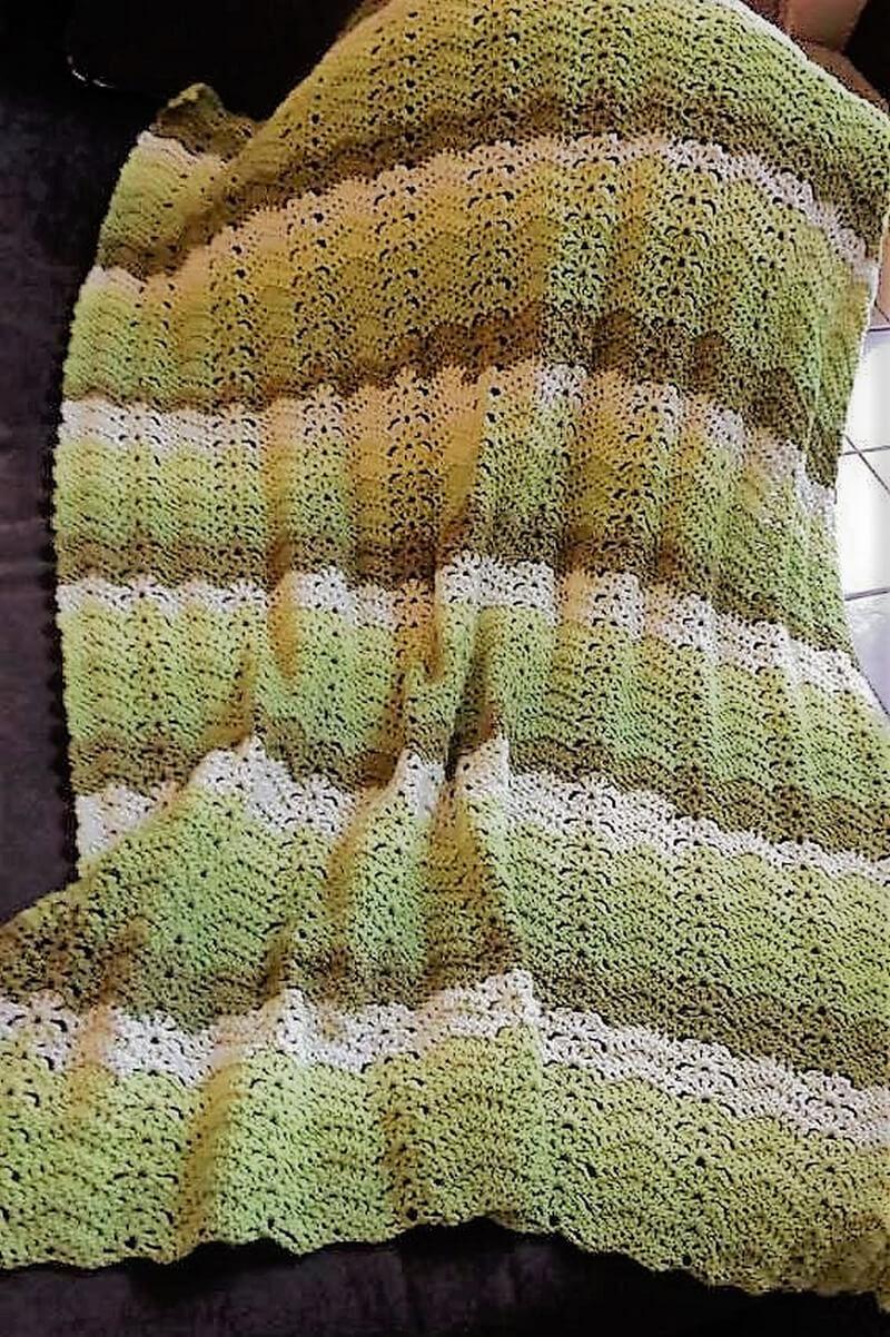 crocheted afghan idea 1