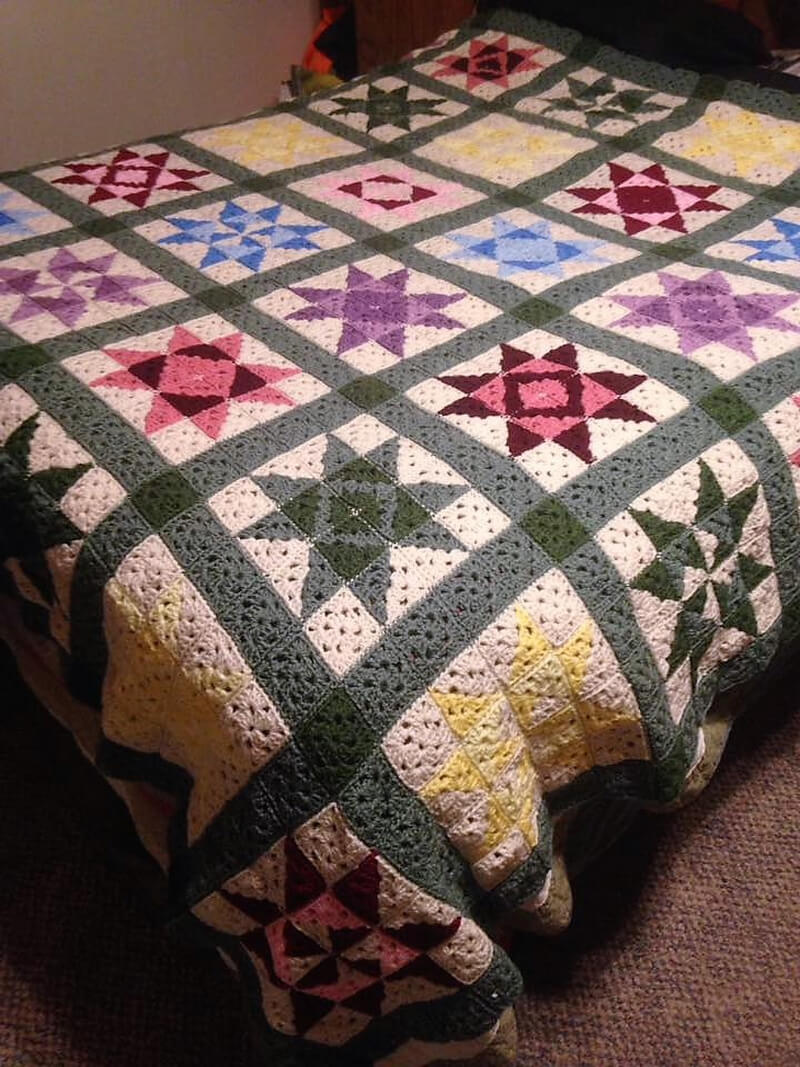 crocheted afghan idea 13 - 2