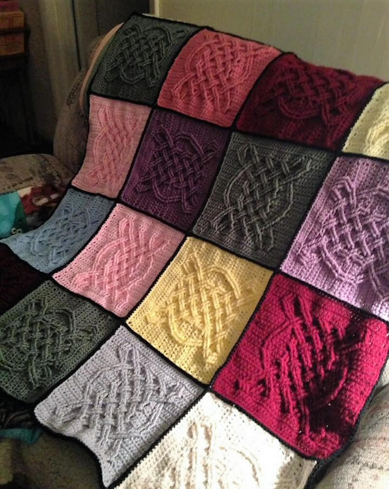 crocheted afghan idea 13