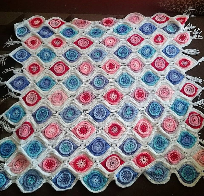 crocheted afghan idea 2