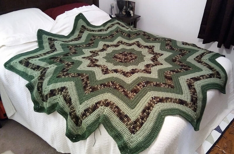 crocheted afghan idea 3