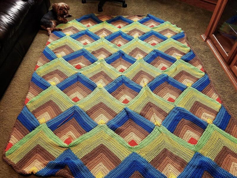 crocheted afghan idea 4