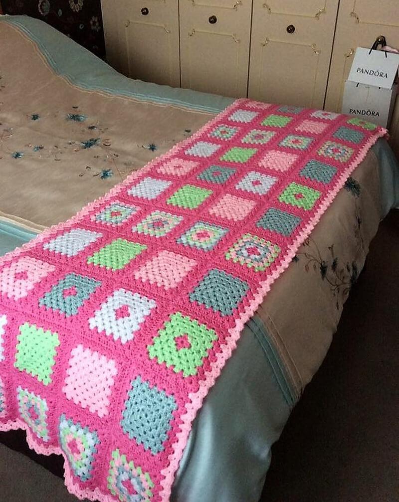 crocheted afghan idea 5
