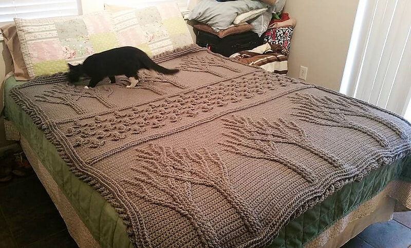 crocheted afghan idea 6